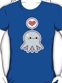 Cute Blue Octopus T-Shirt