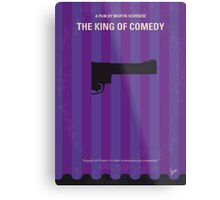 No496 My The King of Comedy minimal movie poster Metal Print