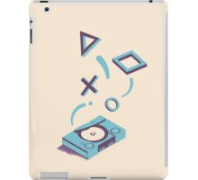 ElectroVideo Playstation (Blue) iPad Case/Skin
