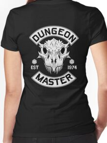 Dungeon Master - D&D Dungeons & Dragons Women's Fitted V-Neck T-Shirt