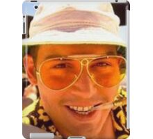 Fear and loathing of lil johnny  iPad Case/Skin