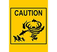 Sharknado Crossing Photographic Print