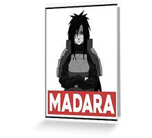Madara Greeting Card