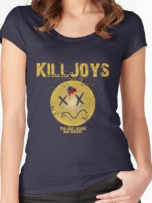 Killjoys - Trigger Happy Women's Fitted Scoop T-Shirt
