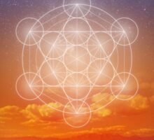 Metatron's Cube Sticker