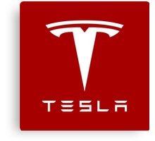 Tesla Motors Canvas Print