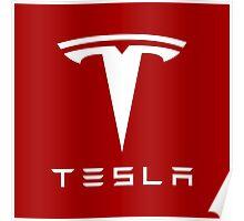 Tesla Motors Poster