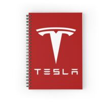 Tesla Motors Spiral Notebook