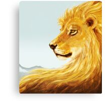 Aslan Revisited Canvas Print