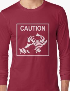 Sharknado Crossing Long Sleeve T-Shirt