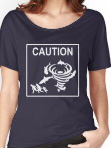 Sharknado Crossing Women's Relaxed Fit T-Shirt