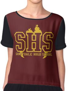 Sunnydale High School Chiffon Top