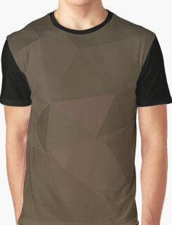Blast Off Bronze Abstract Low Polygon Background Graphic T-Shirt