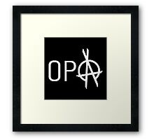OPA The Expanse Framed Print