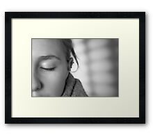 New Experience Framed Print