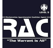 Reclamation Agent - Level 5 Photographic Print