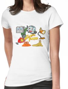 Brave little toaster crew Womens Fitted T-Shirt