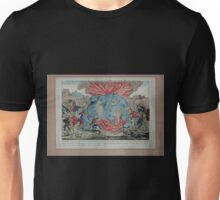 0085 ballooning Embrâsement déplorable de la machine aërostatique des Srs Miolan et Janinet le dimanche 11 juillet 1784 Unisex T-Shirt