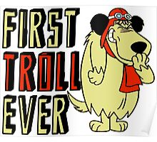 Cool sayings: First troll ever Poster