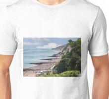 English Beach Scene  Unisex T-Shirt