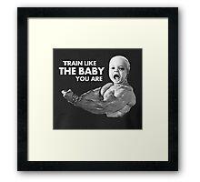Baby Training Framed Print