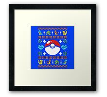 Knitted Poke Framed Print