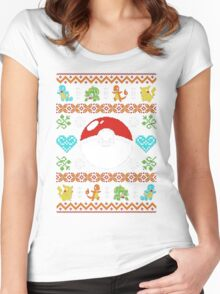 Knitted Poke Women's Fitted Scoop T-Shirt