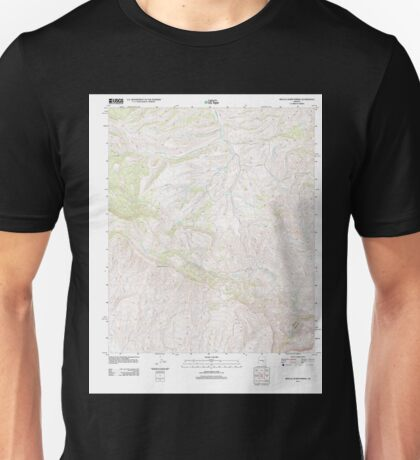 USGS TOPO Map Arizona AZ Mescal Warm Spring 20111129 TM Unisex T-Shirt