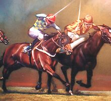 'The Race' by Lynda Robinson