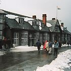 The Darjeeling Club on a wintery day by indiafrank