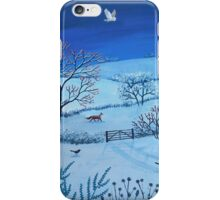 One Snowy Night iPhone Case/Skin