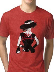 Retro Romantic Tri-blend T-Shirt