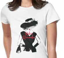 Retro Romantic Womens Fitted T-Shirt
