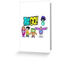 Teen Titans Go! Christmas Greeting Card
