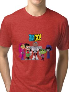 Teen Titans Go! Tri-blend T-Shirt