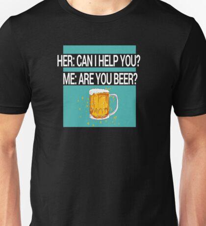 Help Beer Unisex T-Shirt