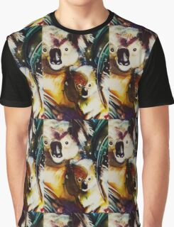Koalas with baby beside Graphic T-Shirt