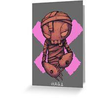 Tiptoe Greeting Card