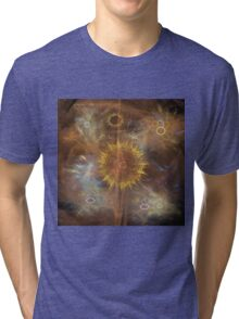 One Ring To Rule Them All (Square Version) - By John Robert Beck Tri-blend T-Shirt