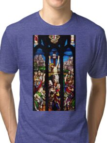 Stain glass Tri-blend T-Shirt