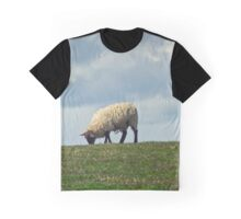 Sheep on the Hill Graphic T-Shirt