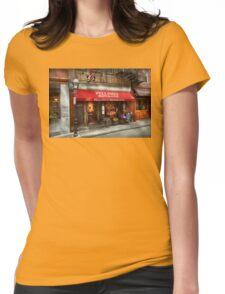 City - Boston, MA - Pellino's Ristorante Womens Fitted T-Shirt