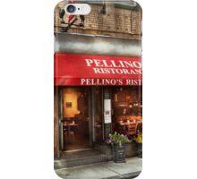 City - Boston, MA - Pellino's Ristorante iPhone Case/Skin