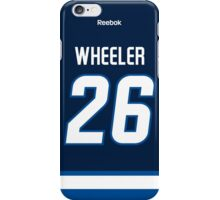 Winnipeg Jets Blake Wheeler Jersey Back Phone Case iPhone Case/Skin