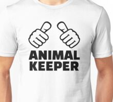 Animal keeper Unisex T-Shirt
