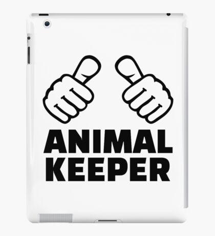 Animal keeper iPad Case/Skin