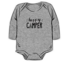 Happy Camper One Piece - Long Sleeve