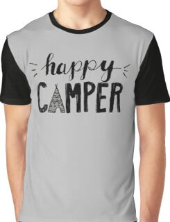 Happy Camper Graphic T-Shirt