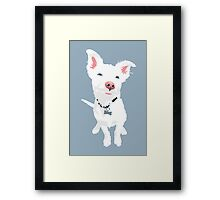 Cute Eddie Framed Print