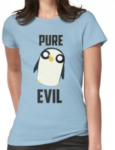 Evil is cute Womens Fitted T-Shirt